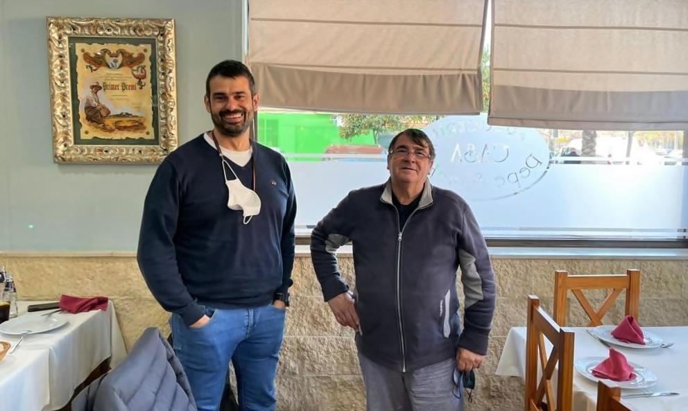 EL CHEF ENRIQUE SÁNCHEZ 'CÓMETELO' DEGUSTA NUESTROS ARROCES